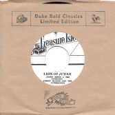 Justin Hines - Lion Of Judah / Tommy McCook - Danger Man-007 (Treasure Isle/Far East Records) JPN 7""